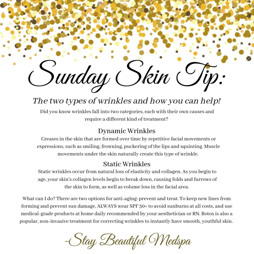 Sunday Skin Tip